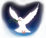 Colombe - symbole de l'amour